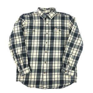 Carhartt Plaid Flannel Button Up Shirt